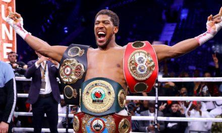 Anthony Joshua a reconquis les ceintures WBA, IBF et WBO des poids lourds.