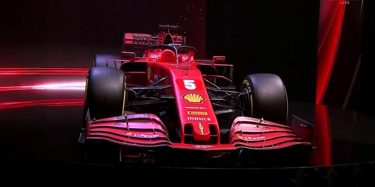 Formule 1. Ferrari présente Sa nouvelle monoplace