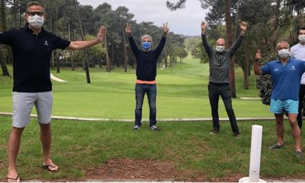 Golf Reprise des tournois