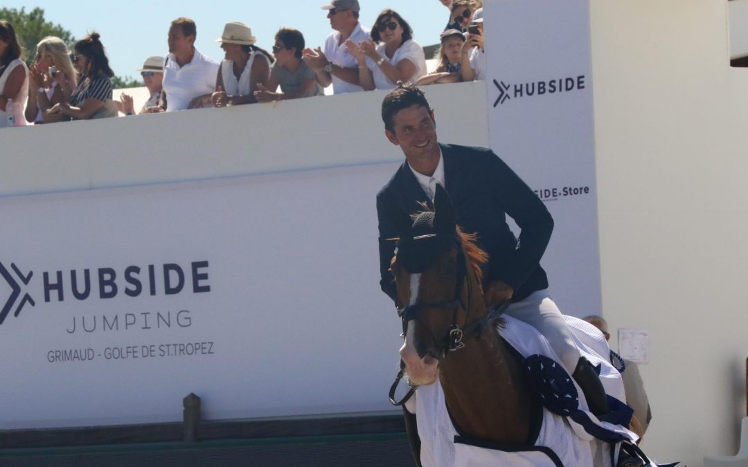 Steve Guerdat vainqueur d'un Grand Prix à Saint-Tropez