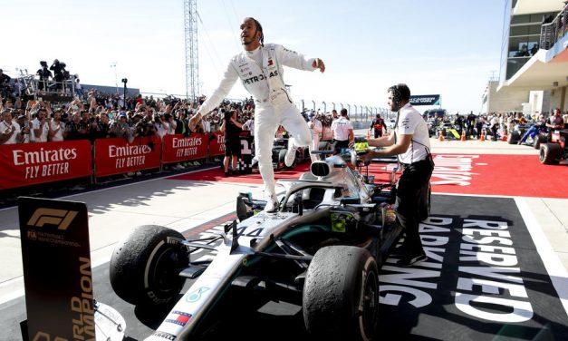 Hamilton en route pour le titre