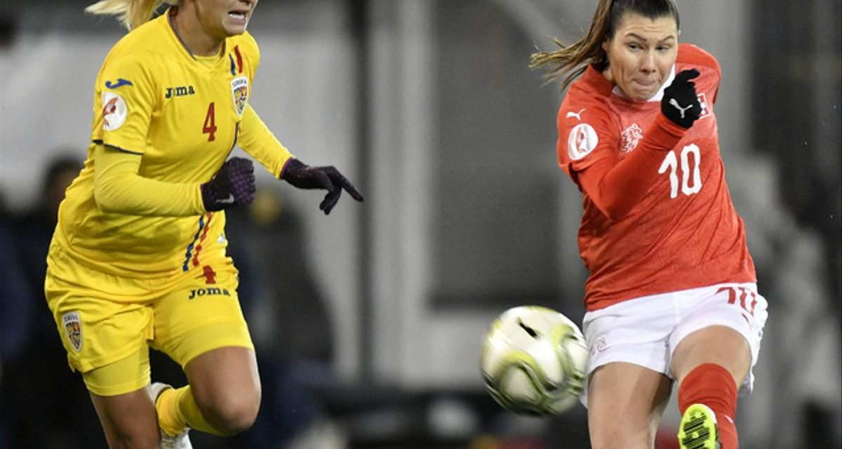 Football – Euro dames: la Suisse bat la Roumanie 2-0