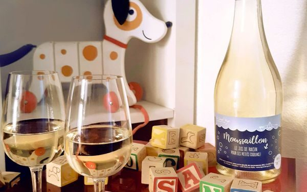 Moussaillon : jus de raisin pétillant & BIO