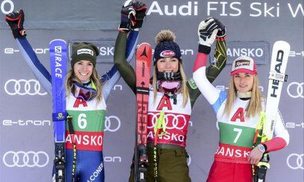 Lara Gut-Behrami termine troisième de la course parallèle de Lech, en Autriche