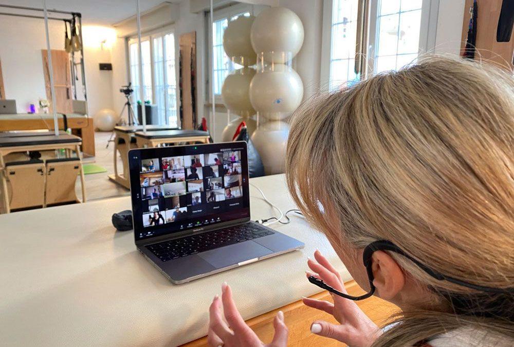 ESPACE PILATES ONLINE : Cours en Live sur Zoom