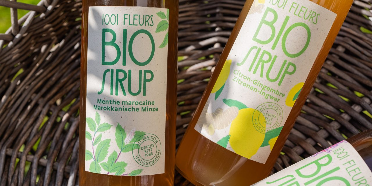 1001 Fleurs : Le Sirop Bio