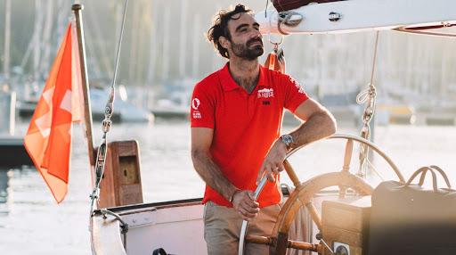 Alan Roura grignote du terrain au Vendée Globe