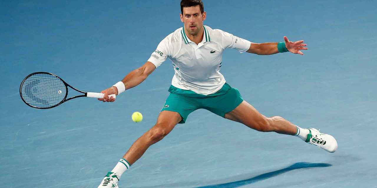 Open d'Australie : Novak Djokovic, avec dix-huit titres du Grand Chelem,  en chasseur du record de Federer