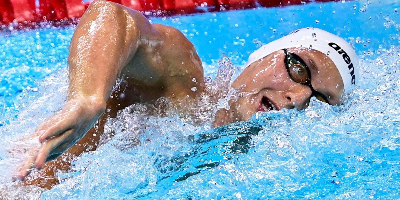 Les nageurs suisses s'illustrent, un record national tombe