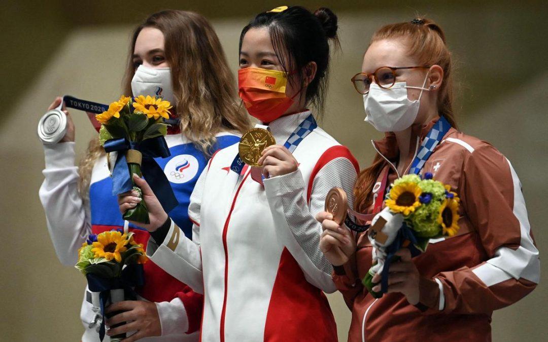 Nina Christen : première championne olympique pour la Suisse.