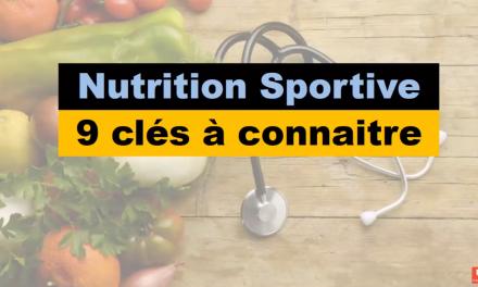 nutrition & SPORT : NOS VIDEOS