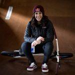 La Genevoise Nikita Ducarroz bronzée en BMX freestyle